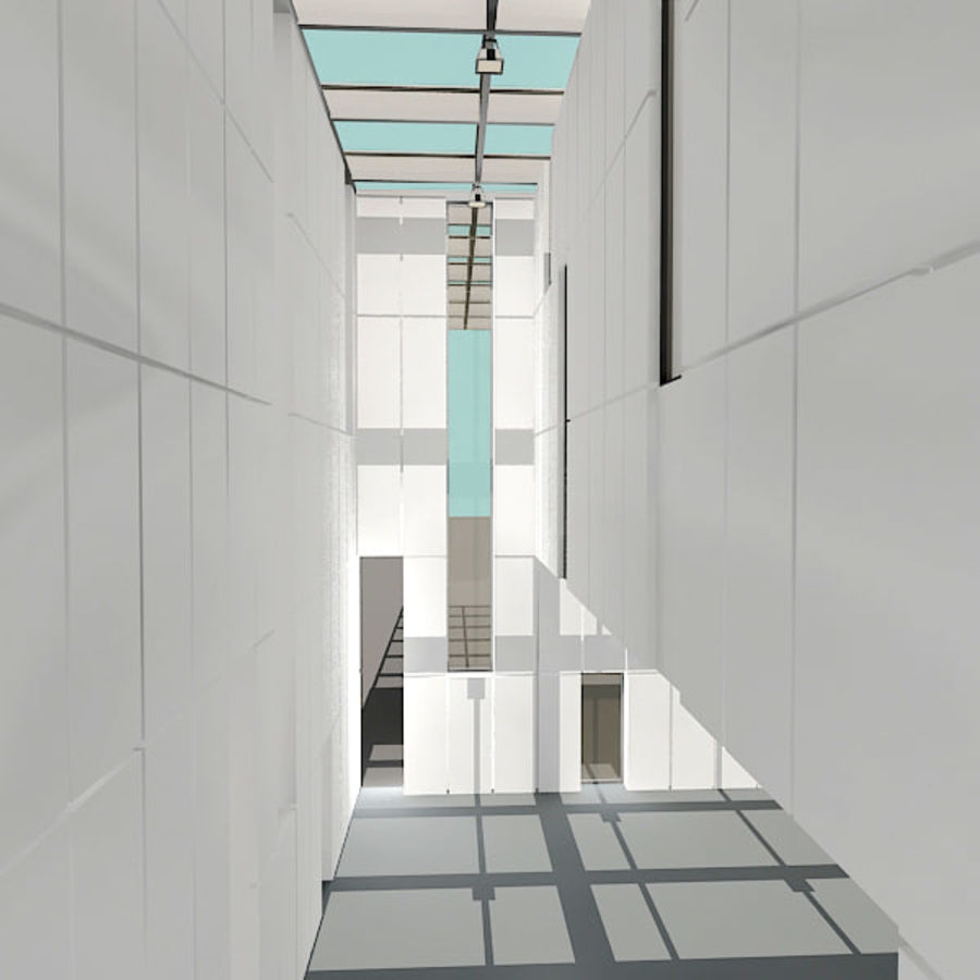 Moderne architectuur royalty-free 3d model - Preview no. 16