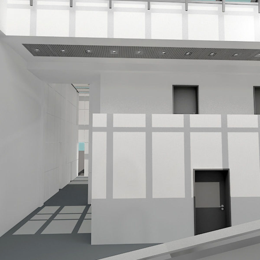 Moderne architectuur royalty-free 3d model - Preview no. 15