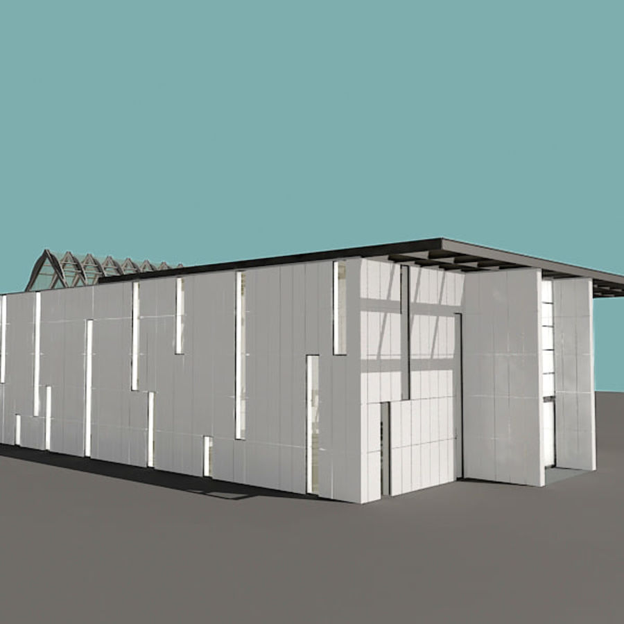 Moderne architectuur royalty-free 3d model - Preview no. 21