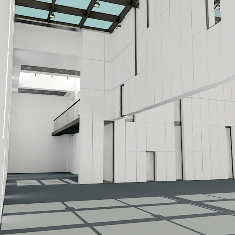 Architecture moderne royalty-free 3d model - Preview no. 1