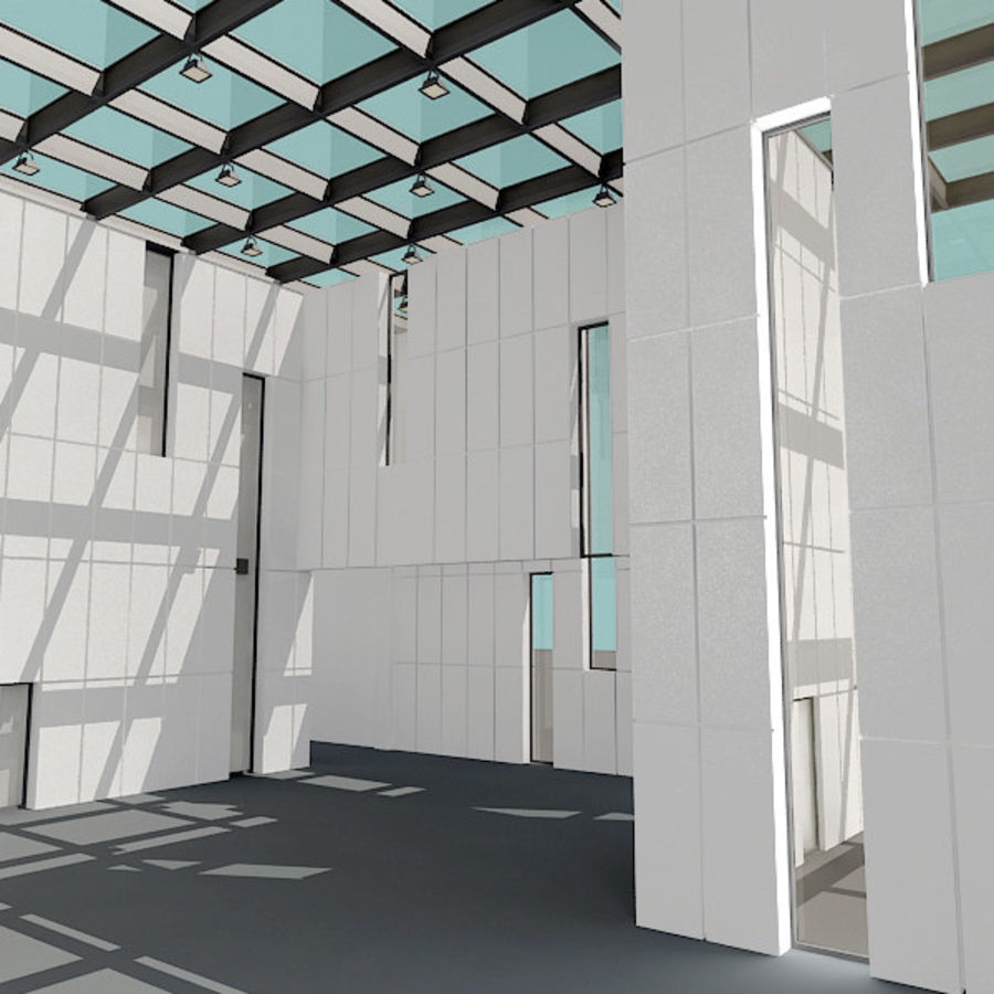 Moderne architectuur royalty-free 3d model - Preview no. 10