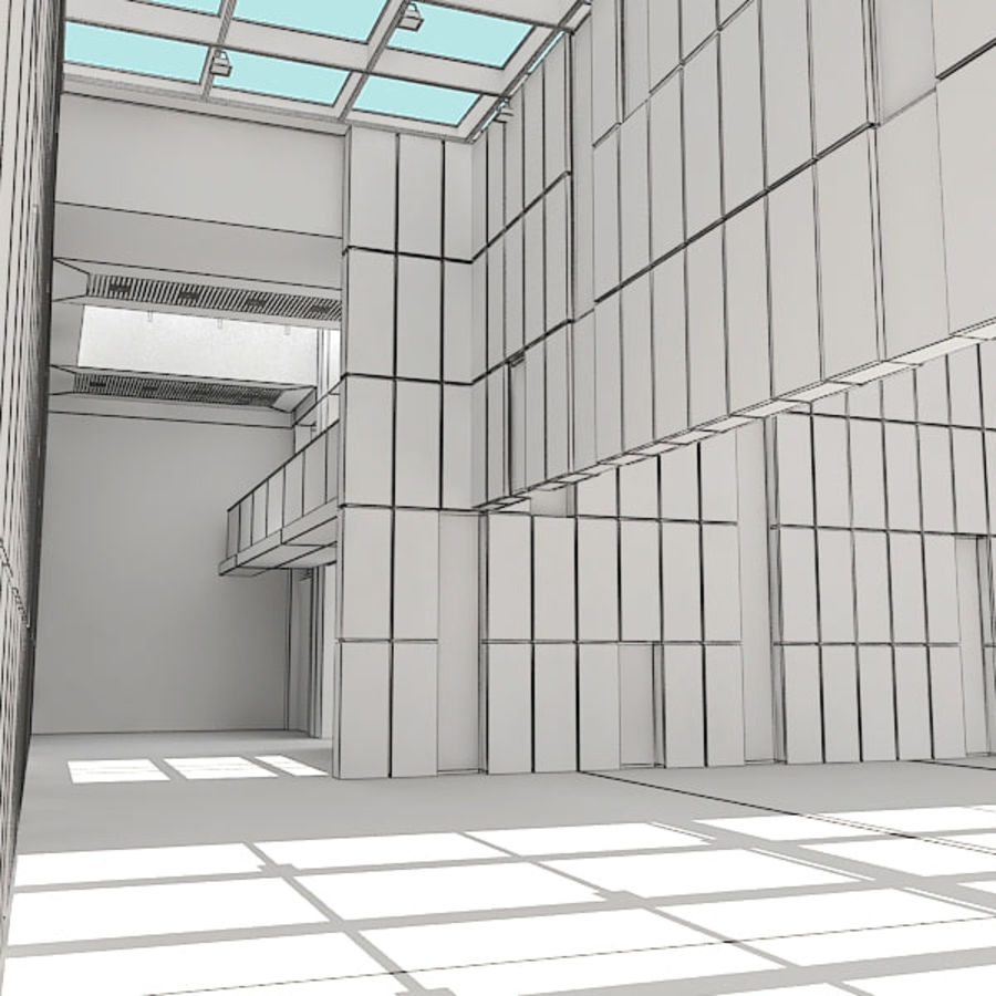 Moderne architectuur royalty-free 3d model - Preview no. 26