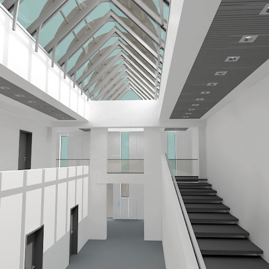Moderne architectuur royalty-free 3d model - Preview no. 12