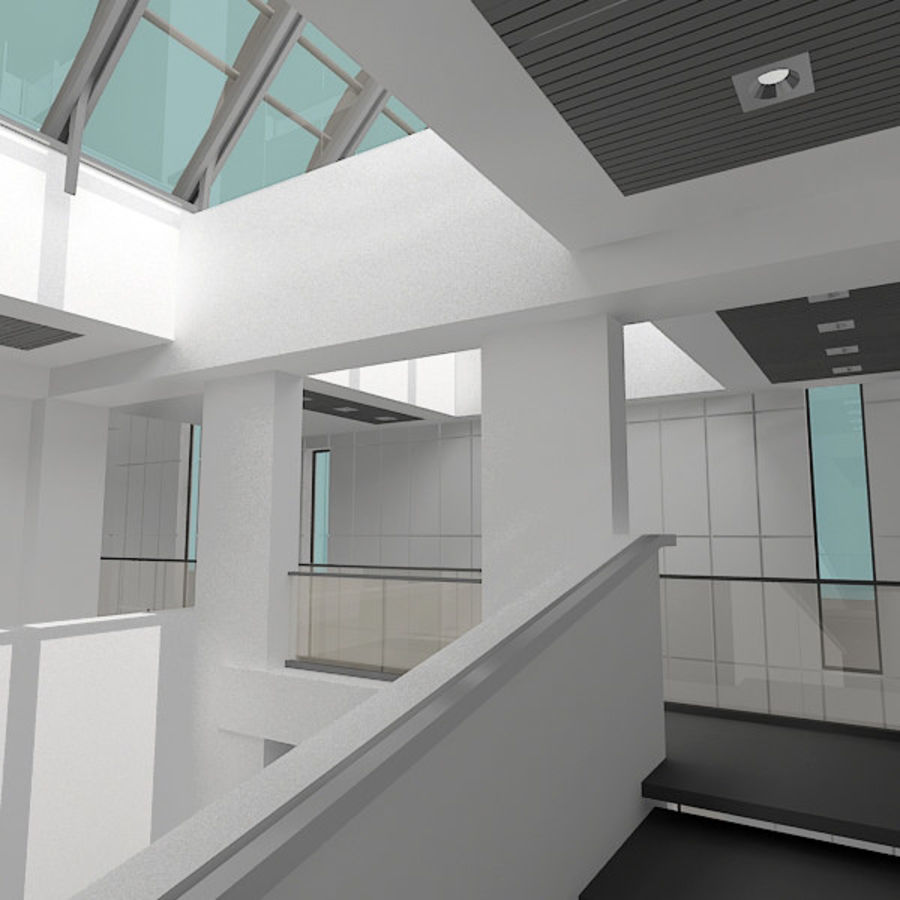 Moderne architectuur royalty-free 3d model - Preview no. 2