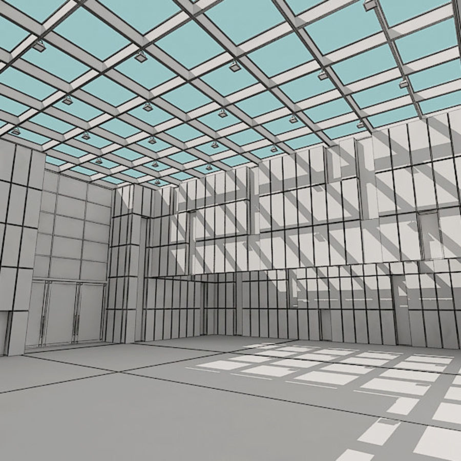 Moderne architectuur royalty-free 3d model - Preview no. 24