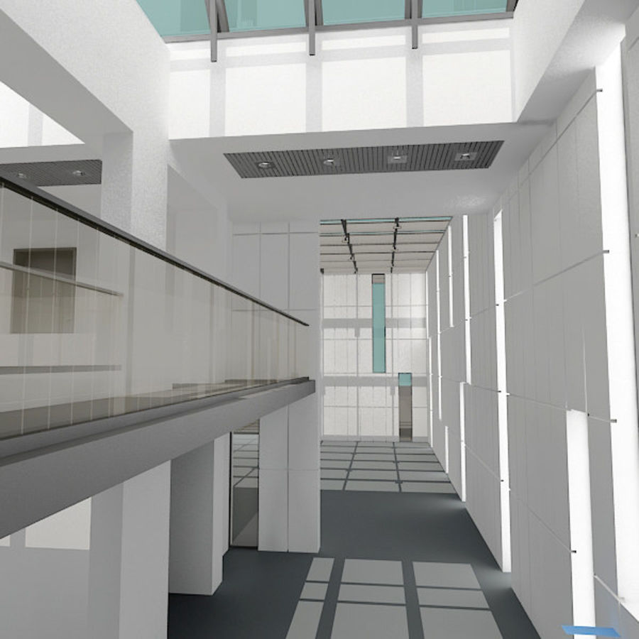 Moderne architectuur royalty-free 3d model - Preview no. 13