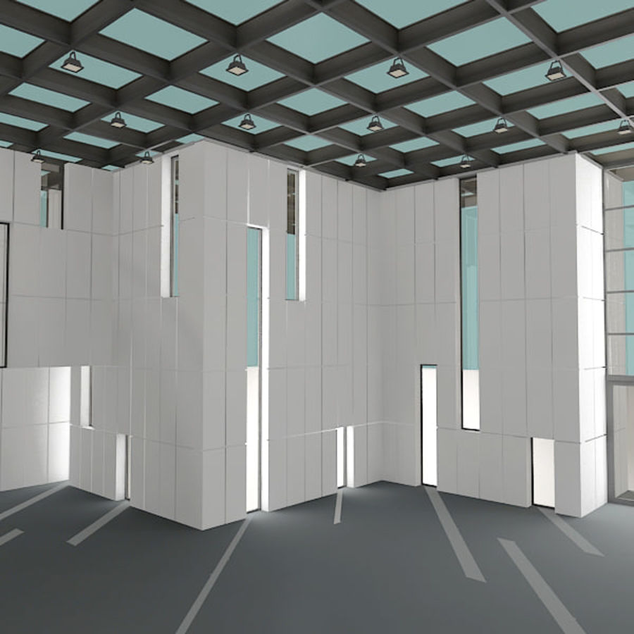 Modern Architecture royalty-free 3d model - Preview no. 7