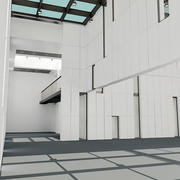 Moderne architectuur 3d model