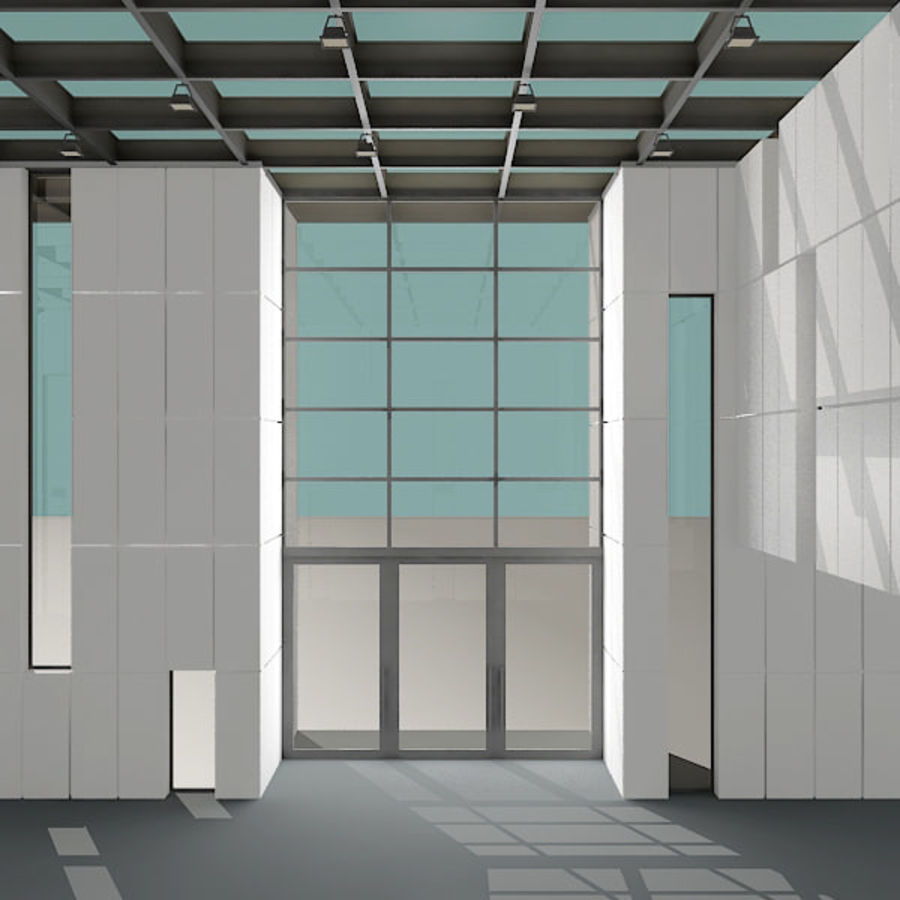 Moderne architectuur royalty-free 3d model - Preview no. 11