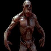 怪物 3d model