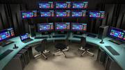 Sala de Controle de Comando 3d model
