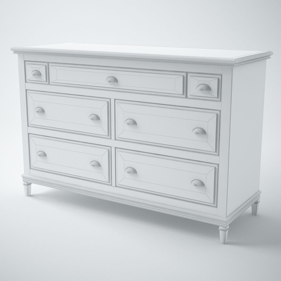 Modenese Gastone Collection royalty-free 3d model - Preview no. 22