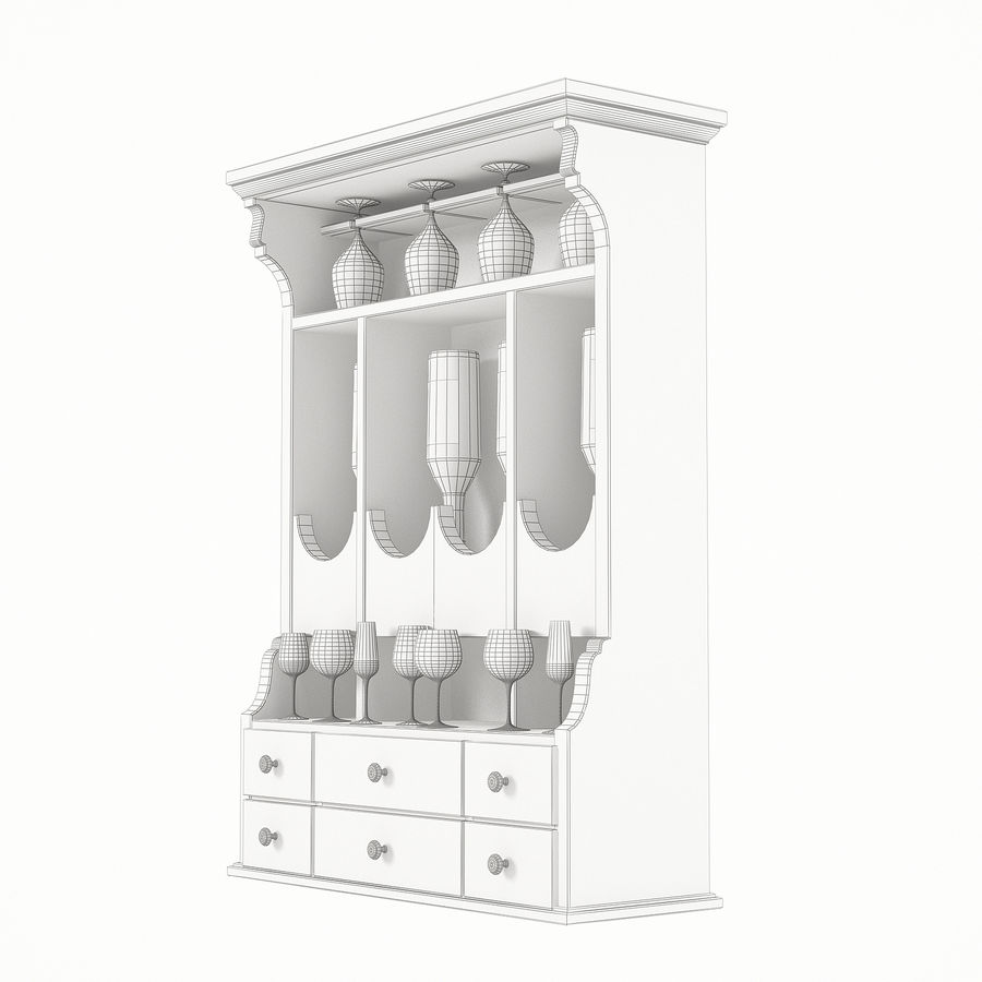 Modenese Gastone Collection royalty-free 3d model - Preview no. 34