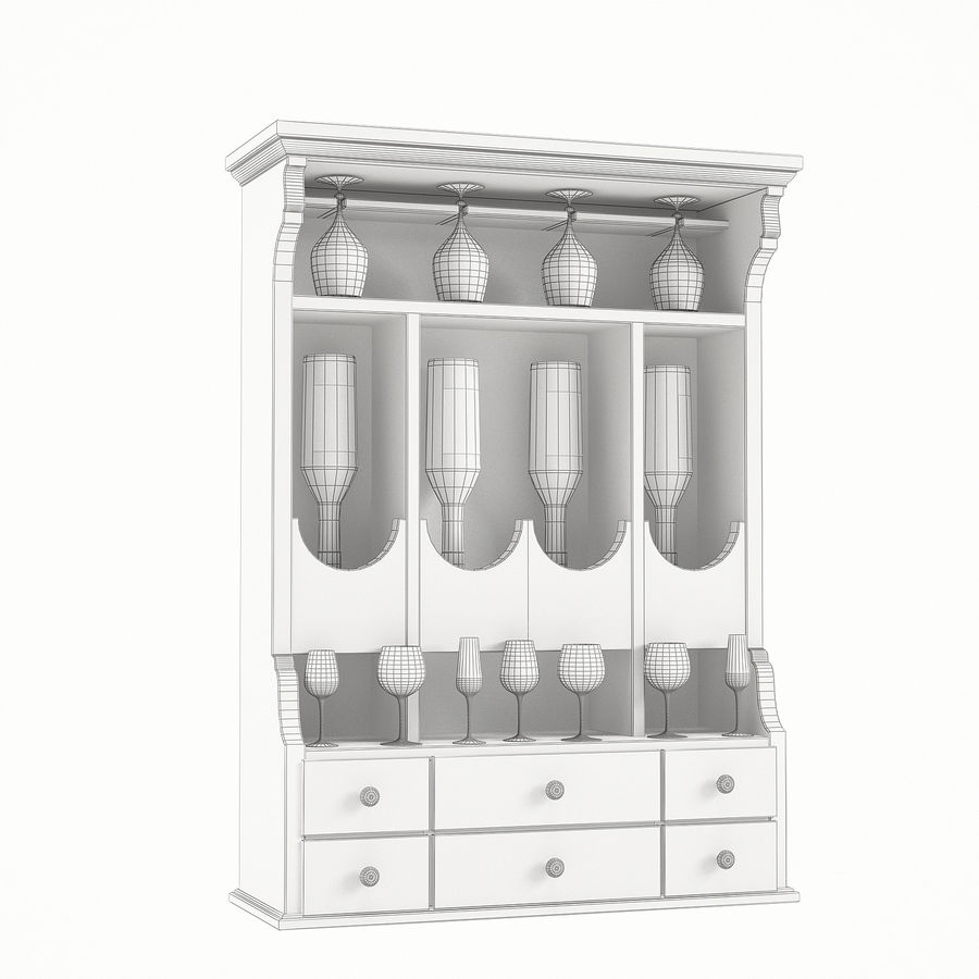 Modenese Gastone Collection royalty-free 3d model - Preview no. 30