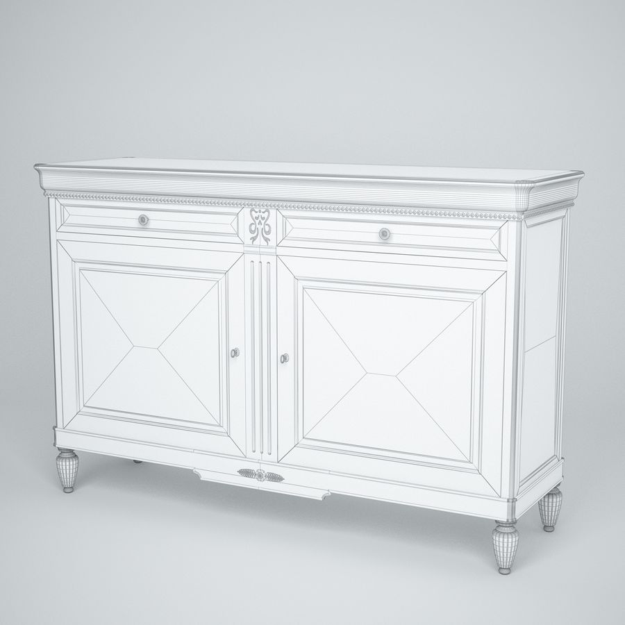 Modenese Gastone Collection royalty-free 3d model - Preview no. 5