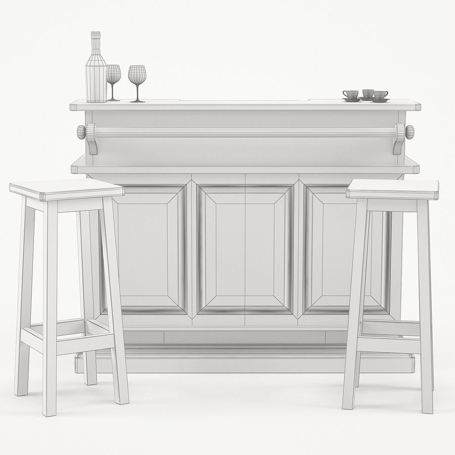 Modenese Gastone Collection royalty-free 3d model - Preview no. 47