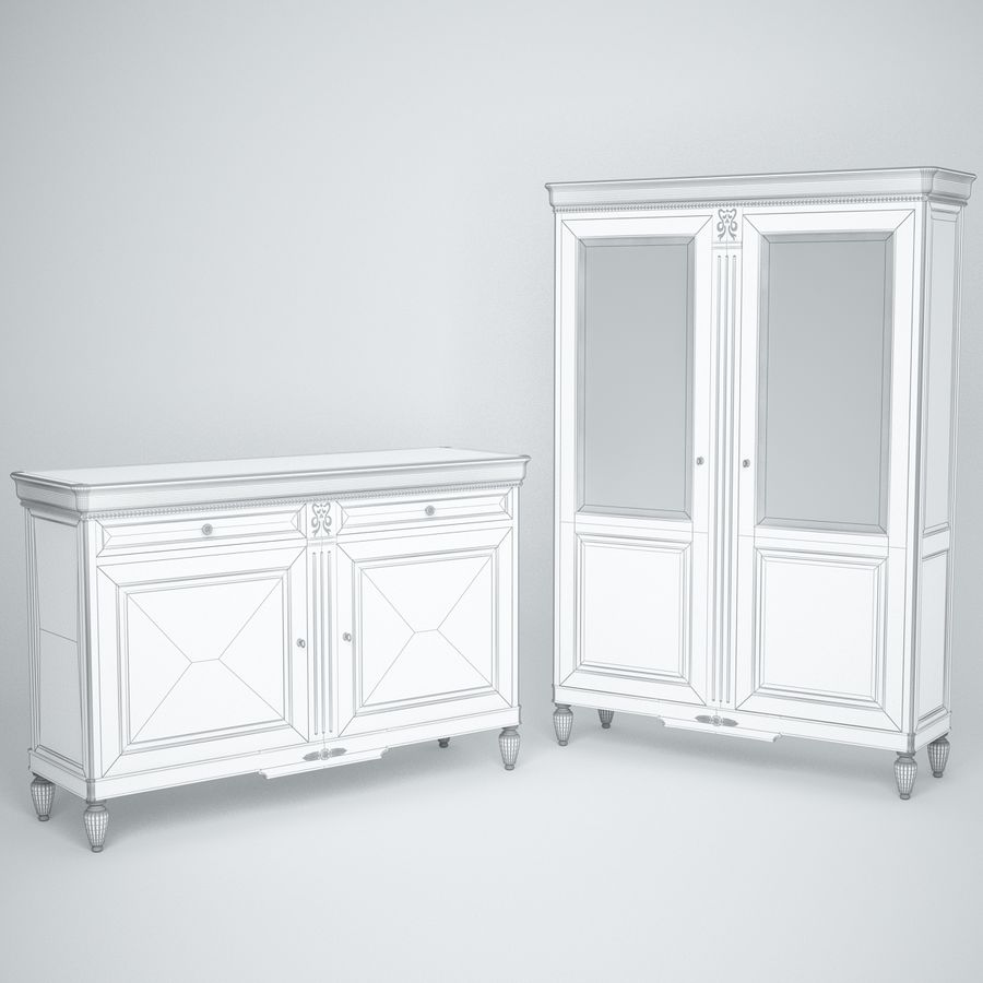Modenese Gastone Collection royalty-free 3d model - Preview no. 3
