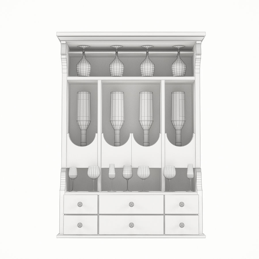 Modenese Gastone Collection royalty-free 3d model - Preview no. 32