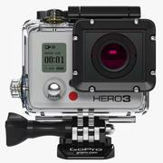 Gopro Hero3 3d model