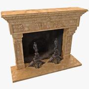 暖炉12 3d model