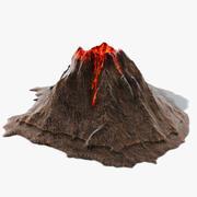 Ilha do Vulcão 3d model