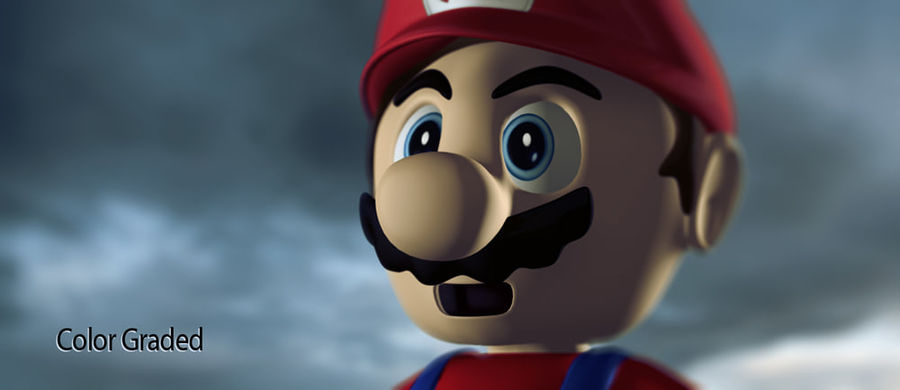 Super Mario royalty-free 3d model - Preview no. 5