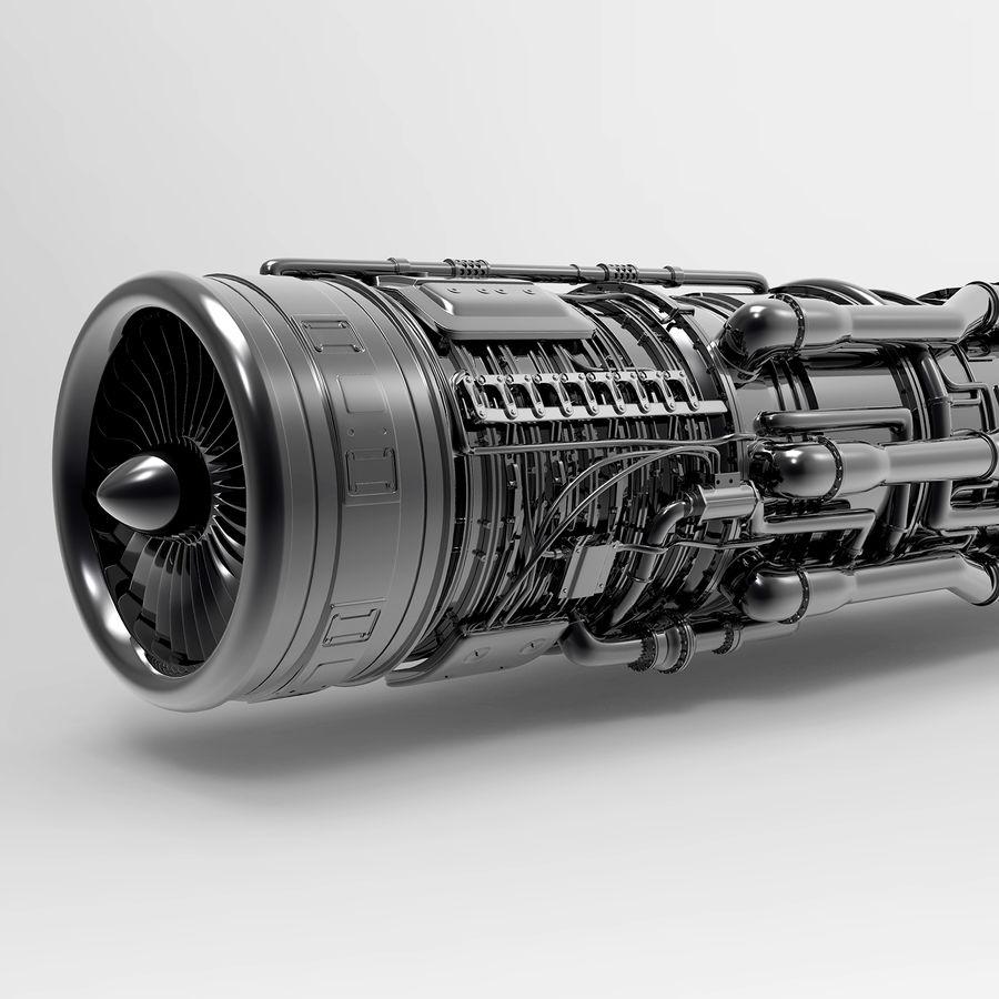 航空機エンジン royalty-free 3d model - Preview no. 6