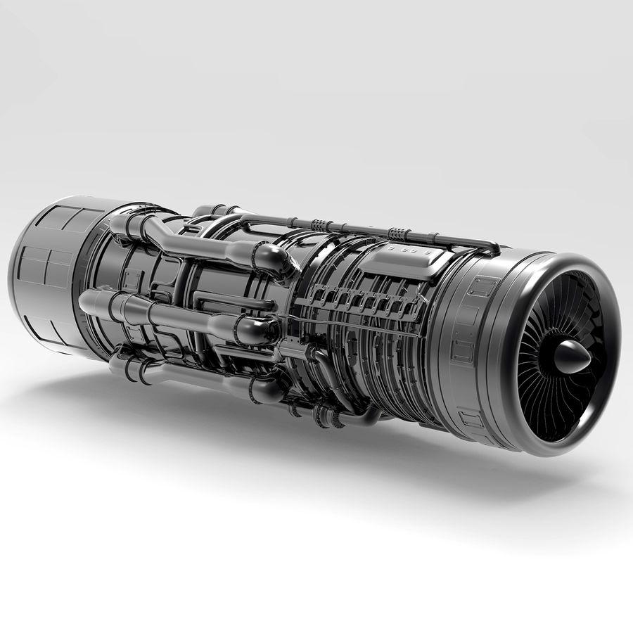 航空機エンジン royalty-free 3d model - Preview no. 3