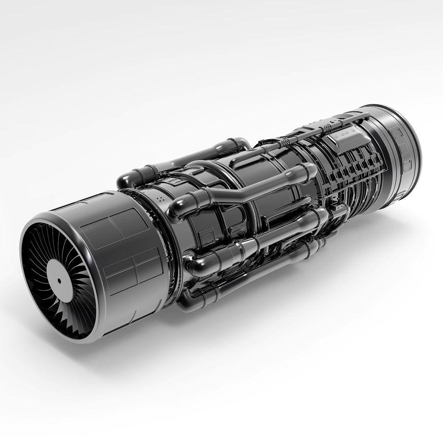 航空機エンジン royalty-free 3d model - Preview no. 5
