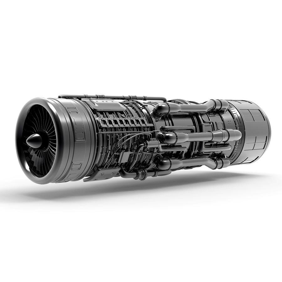 航空機エンジン royalty-free 3d model - Preview no. 1