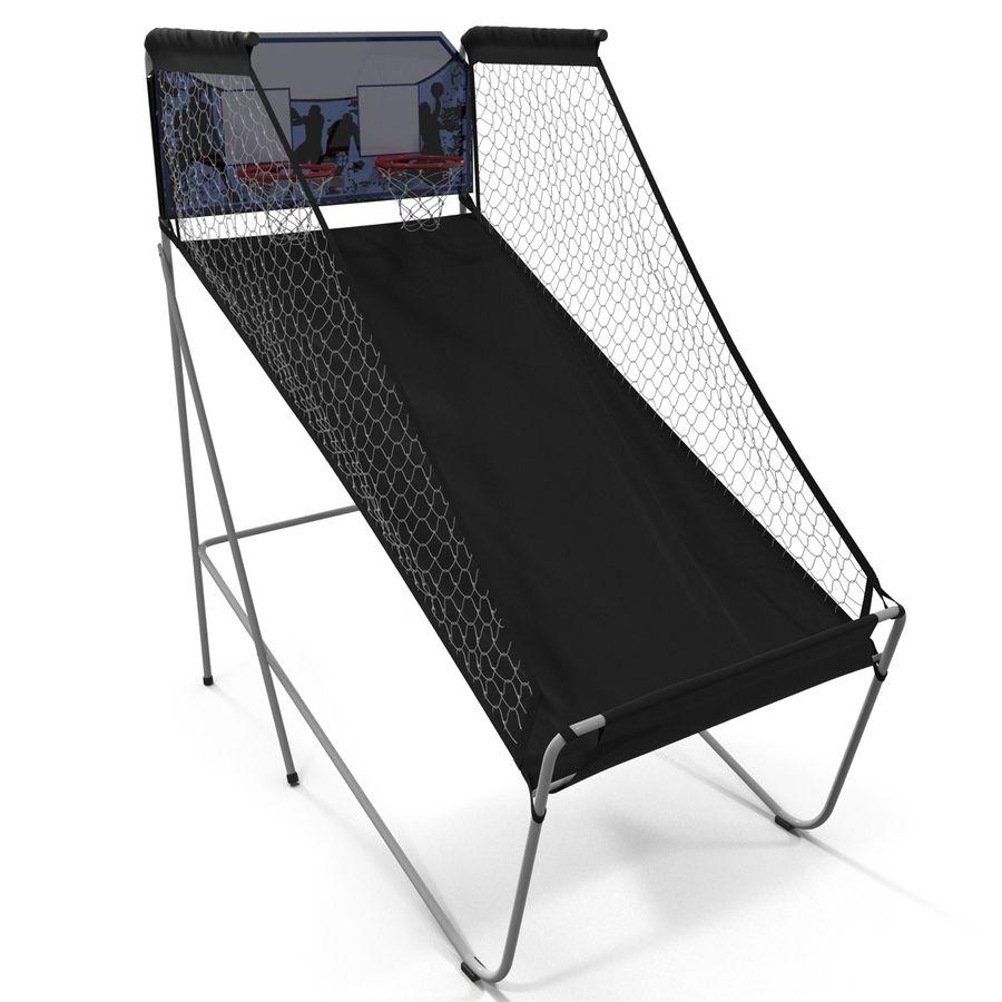 Juego de baloncesto electrónico Spalding 4020 royalty-free modelo 3d - Preview no. 6