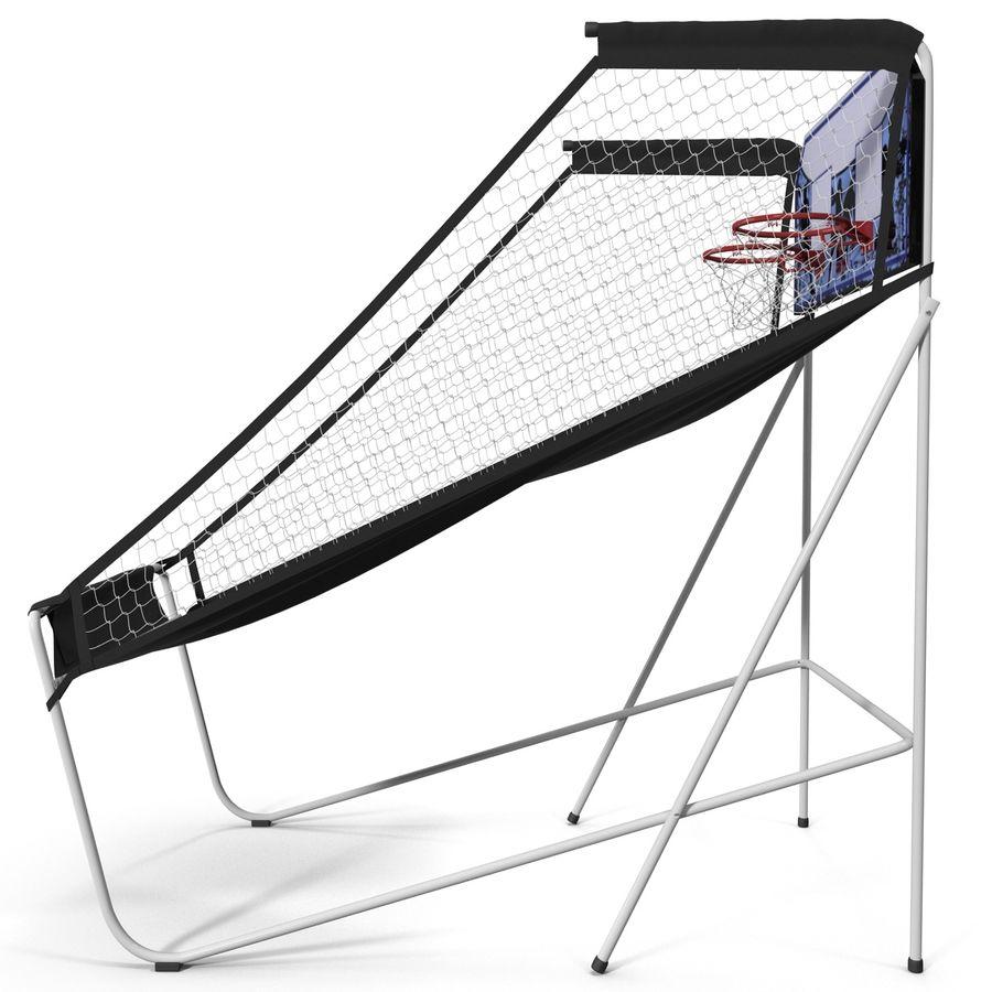 Juego de baloncesto electrónico Spalding 4020 royalty-free modelo 3d - Preview no. 11