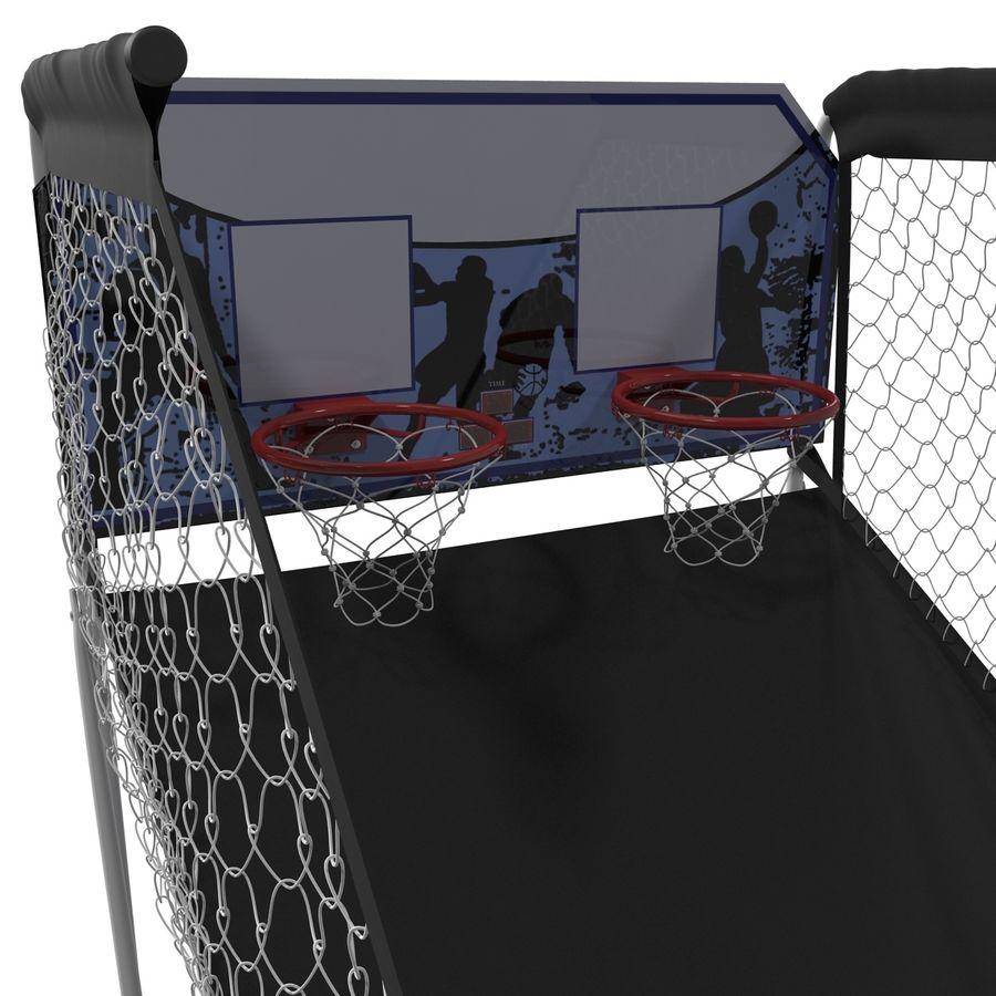 Juego de baloncesto electrónico Spalding 4020 royalty-free modelo 3d - Preview no. 4