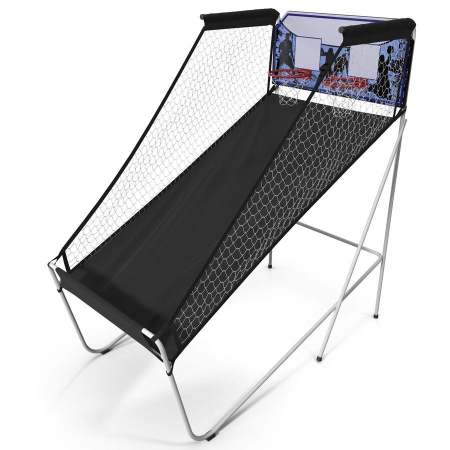 Juego de baloncesto electrónico Spalding 4020 royalty-free modelo 3d - Preview no. 7
