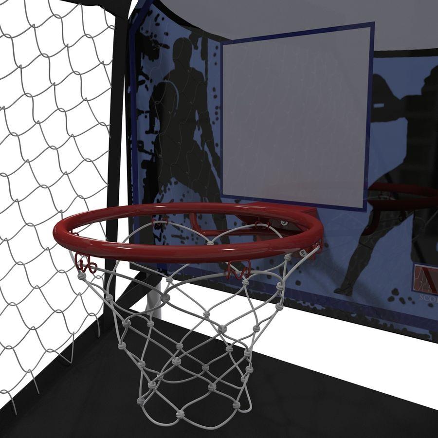 Juego de baloncesto electrónico Spalding 4020 royalty-free modelo 3d - Preview no. 3