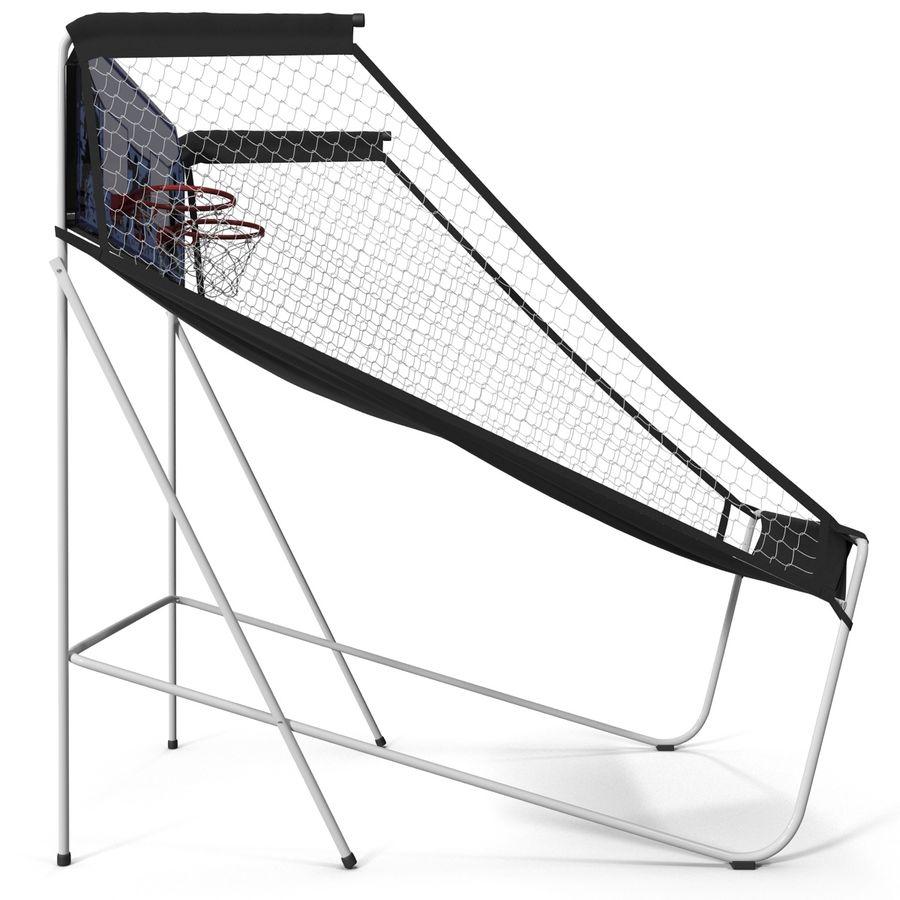 Juego de baloncesto electrónico Spalding 4020 royalty-free modelo 3d - Preview no. 9