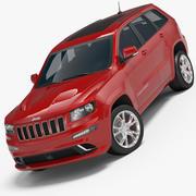 Jeep Grand Cherokee SRT 8 3d model