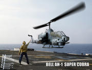 Low Poly Helicopter AH-1 Super Cobra 3d model