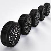 Wheels Collection 3d model