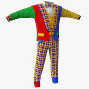 Palyaço Kıyafetleri 2 3d model