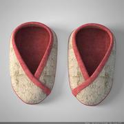 婴儿鞋02 3d model