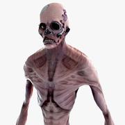 Зомби существо 3d model