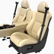 Seats Front 3d model