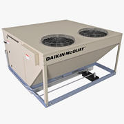 Rooftop Heating and Cooling Unit 3d model