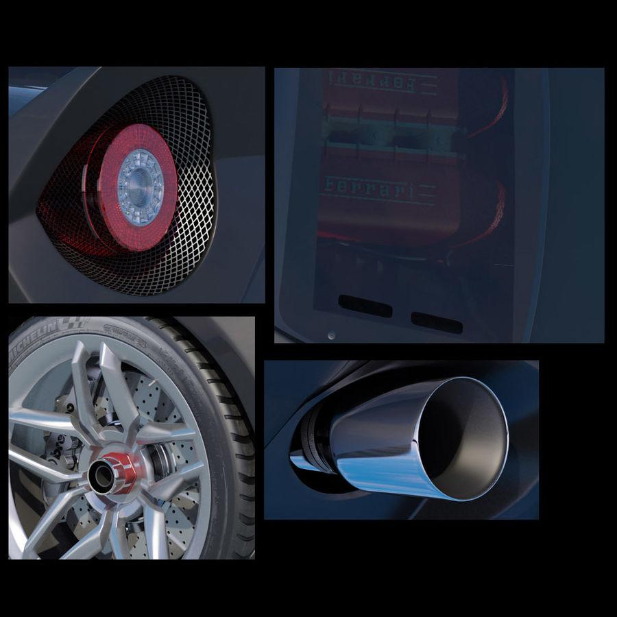 Lancia Stratos Concept Car 2010 royalty-free 3d model - Preview no. 11