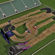 BMX Offroad Track 3d model