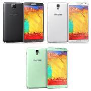 삼성 Galaxy Note 3 Neo 모든 색상 3d model
