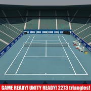 Tennis Arena GAME 1 3d model
