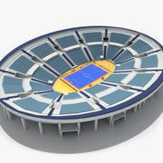 Futsal Low Poly (No Chairs) 3d model