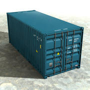 컨테이너 20 ft 3d model
